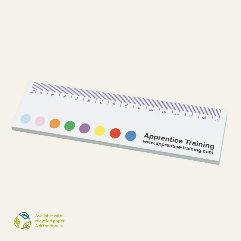sticky-smart™ – ruler notes