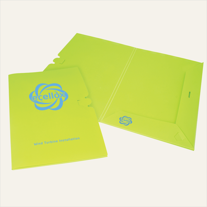 enviro-smart™ – presentation folder A4 – polyprop pop