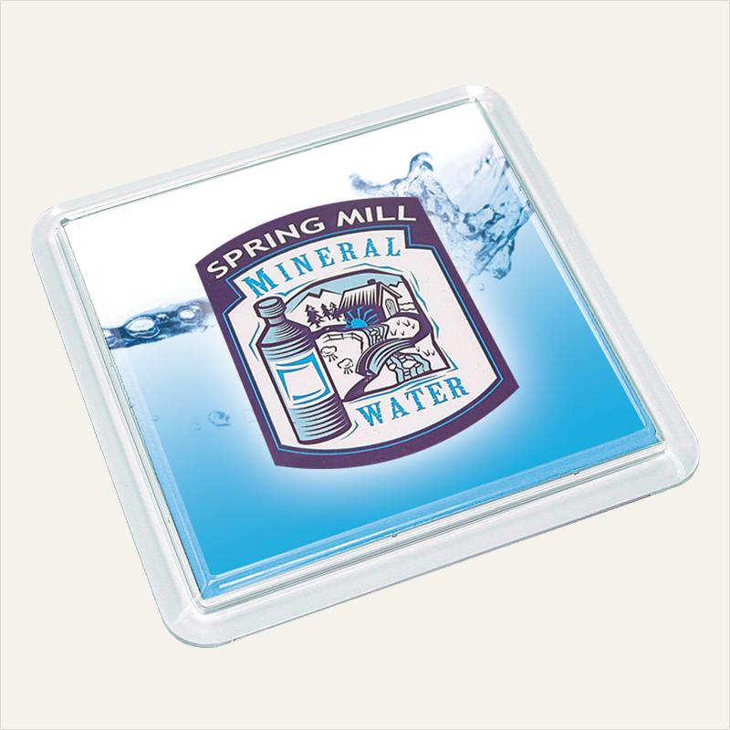 square coaster – insert