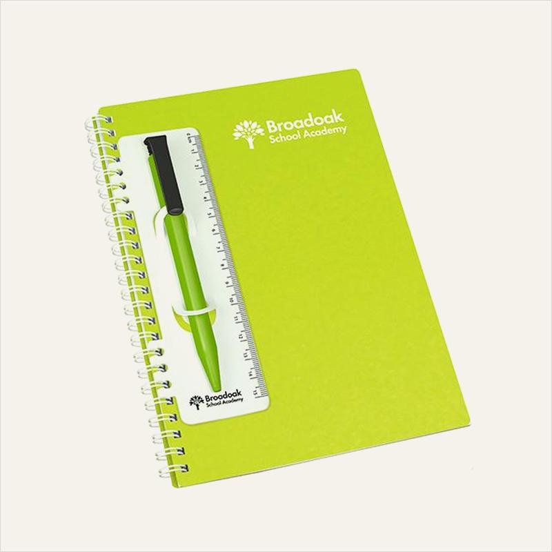 enviro-smart clip in flexi ruler pen holder