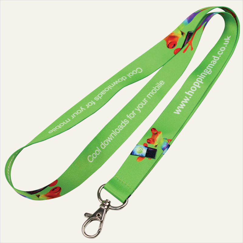 20mm dye-sub HD lanyard